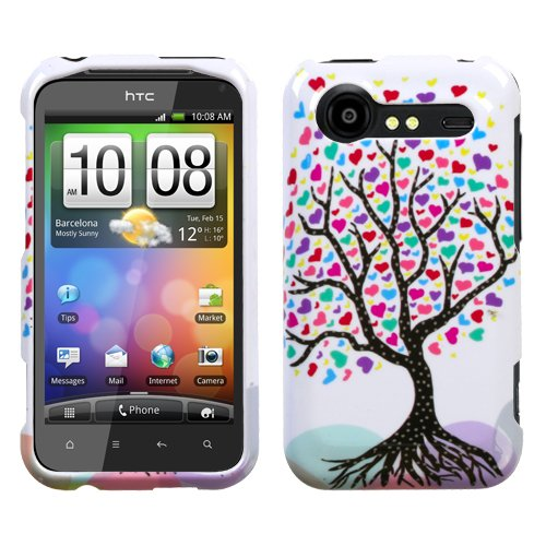 Design Hard Protector Skin Cover Cell Phone Case for HTC Droid Incredible 2 ADR6350 Verizon Wireless - Love Tree