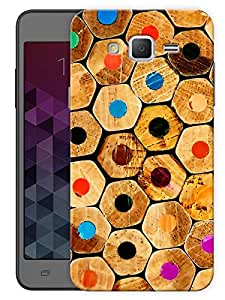 """Humor Gang Colorful Pencil End Pattern Printed Designer Mobile Back Cover For """"Samsung Galaxy On5"""" (3D, Matte, Premium Quality Snap On Case)"""