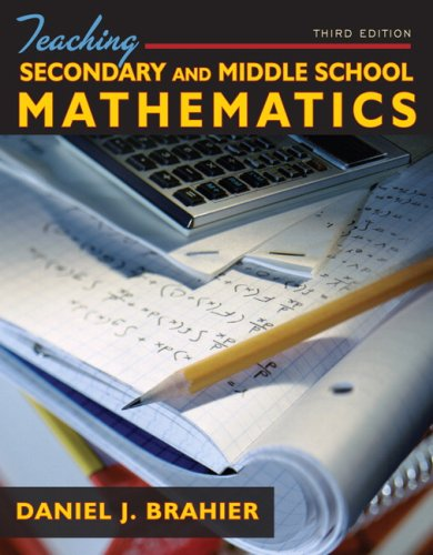 Teaching Secondary and Middle School Mathematics (3rd...