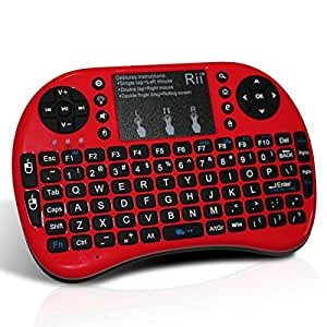 buy rii i8 mini wireless 2 4g backlight touchpad keyboard with mouse for pc mac. Black Bedroom Furniture Sets. Home Design Ideas