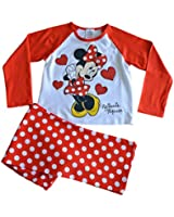 Minnie Mouse Pyjamas - 1 to 5 Years - Minnie Mouse PJs Polka Dot W14