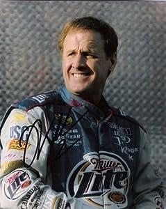 Autographed Wallace Picture - 8x10 Color - Autographed NASCAR Photos by Sports Memorabilia