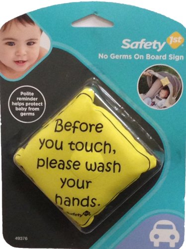 Safety 1st No Germs on Board Sign - 2 Count - 1