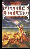 BLOOD OF THE TIGER (Saga of the Lost Lands) (0553264117) by Estes, Rose