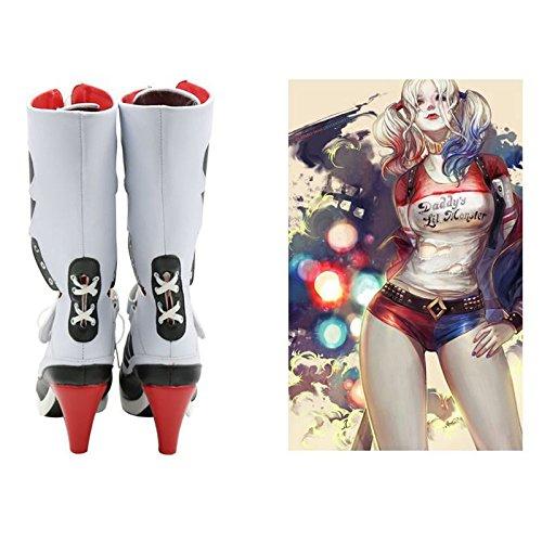 c80923e747d2 Batman-DC-Comics-Suicide-Squad-Harley-Quinn-Cosplay-Boots-High ...