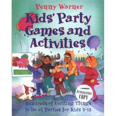 Kids Party Games and Activities Book