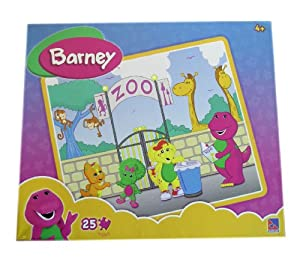 Barney Puzzle - Barney At The Zoo Puzzle [Toy]