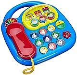 Toy - Simba 104012412 - ABC Telefon, verschiedene Sounds, Drehbilderdisplay, 20 x 20 cm, sortiert