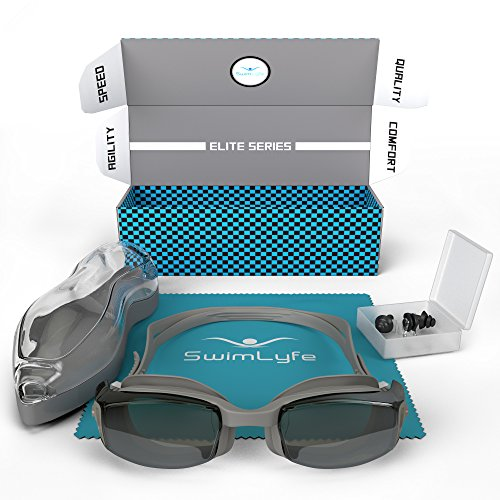 SwimLyfe - Schwimmbrillen mit firmeneigenem Patent des Anti-Beschlagens und Silikontechnologie. Unisex Design für Männer und Frauen