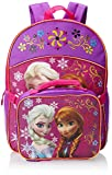 Fast Forward Little Girls'  Anna and Elsa Backpack with Lunch Set