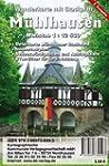 M�hlhausen: Wanderkarte mit Stadtplan