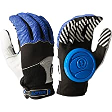 Sector 9 Apex Blue / Grey / Black Large / X-Large Slide Gloves Downhill Slide Gloves