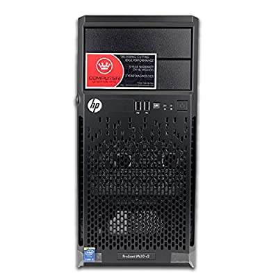Newest 2015 HP Proliant ML10 Tower Desktop or Server Barebones DIY Computer PC with i3-4150 3.5GHz, 8GB, RAID - best cheap Business and Professional Workstation on sale for Black Friday + Christmas