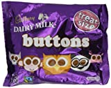 Cadbury Dairy Milk Chocolate Buttons Treatsize 87 g (Pack of 5)