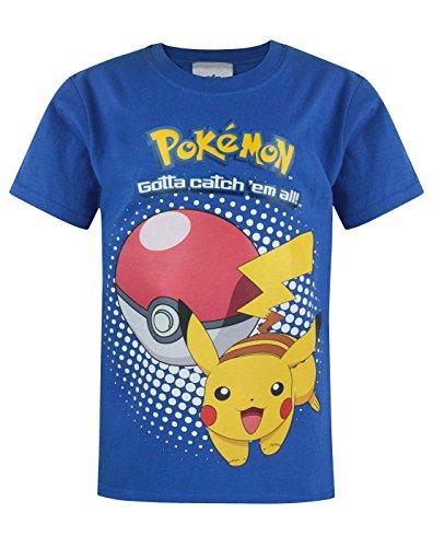 Camiseta Oficial Pokemon niños 11-12 Ans