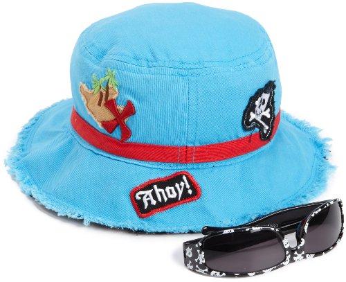 Stephen Joseph Boys 2-7 Bucket Hat With Sunglasses