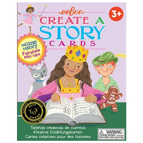eebooTell Me a Story Creative Story Cards - Fairytale Mix Up