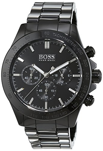Hugo Boss-Reloj de pulsera hombre Ikon Cronógrafo Cuarzo cerámica 1513197