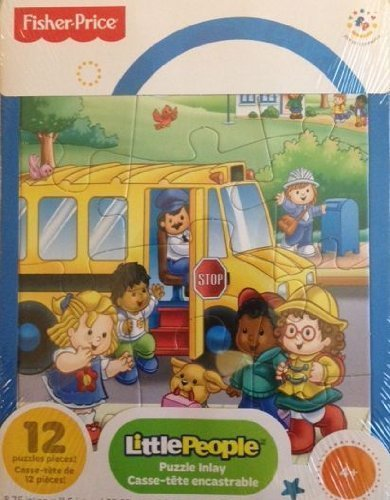Fisher Price Little People Frame Jigsaw Puzzle 12 Pieces (Fisher Price Little People Puzzle compare prices)