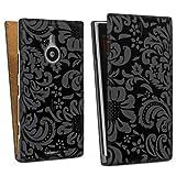 Design bag case for Nokia Lumia 1520 DesignTasche Downflip black - Always Famous