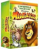 Trilogie Madagascar 1 à 3 - Coffret 3 Blu-ray