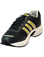 Adidas Men's Alcor Black And Yellow Running Shoes
