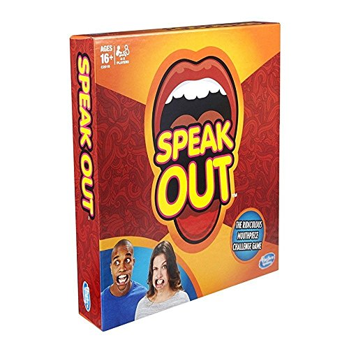 Speak Out Board Game Mouthpiece Game Mouthguard Challenge Game party