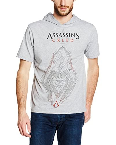 ICONIC COLLECTION - ASSASSINS CREED Camiseta Manga Corta Vector Gris Claro