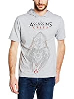 ICONIC COLLECTION - ASSASSINS CREED Camiseta Manga Corta Vector (Gris Claro)