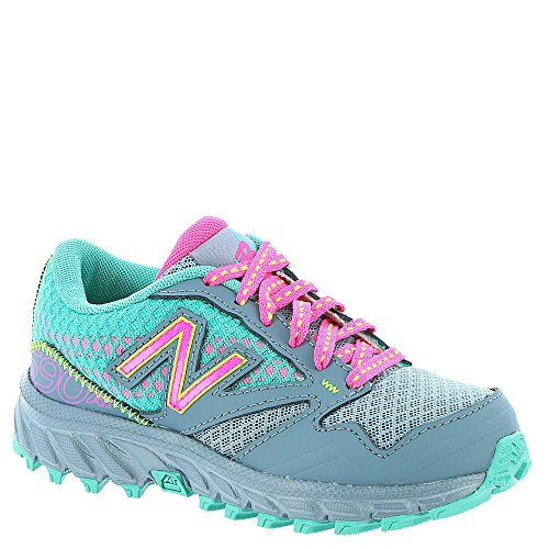 new arrivals 99065 dc6e4 New Balance KT690 Trail Shoe (Little Kid Big Kid), Grey Pink, 10.5 M US  Little Kid   The Running Aut