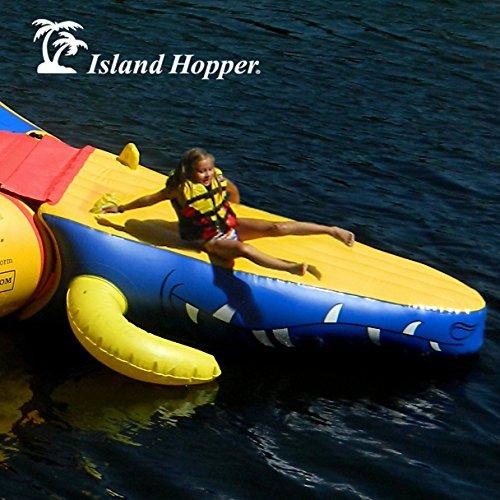 Island Hopper Water Slides Pool Floats Rafts Trampolines