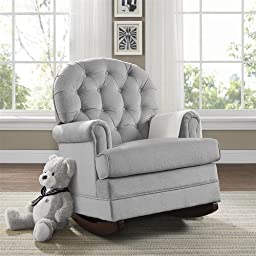 Brielle Glider by Baby Relax Gray Color