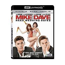 Mike & Dave Need Wedding Dates [4K Ultra HD + Blu-ray]