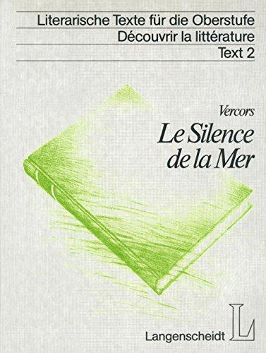 Image of Silence de la Mer