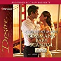 Bossman's Baby Scandal (       UNABRIDGED) by Catherine Mann Narrated by Harry Berkeley