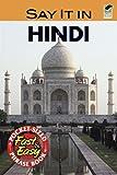 Say It in Hindi (Dover Language Guides Say It Series) (English and Hindi Edition)