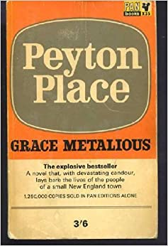 a plot review of grace metalious peyton place Return to peyton place has 827 ratings and 64 reviews  story i wish grace metalious had written more stories about the families of peyton place before her death.