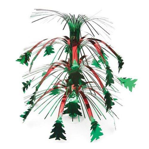 Christmas Tree Cascade Centerpiece Party Accessory (1 count) (1/Pkg)