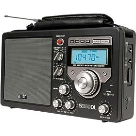 Eton S350 Deluxe DLB AM/FM Shortwave Radio (Black)