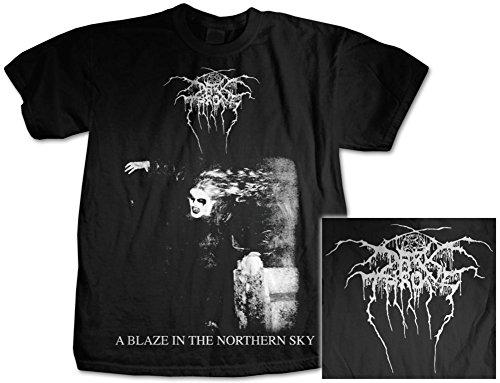 Old Glory - Darkthrone - Uomo A Blaze In The Northern Sky T-shirt Small Nero