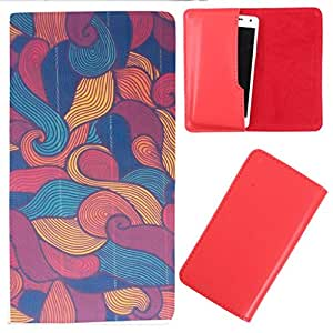 DooDa - For Micromax Canvas Play 4G PU Leather Designer Fashionable Fancy Case Cover Pouch With Smooth Inner Velvet