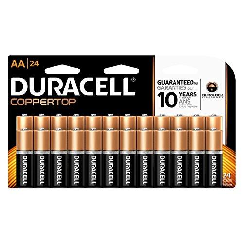Duracell Coppertop AA 24 Alkaline Batteries (Packaging May Vary)