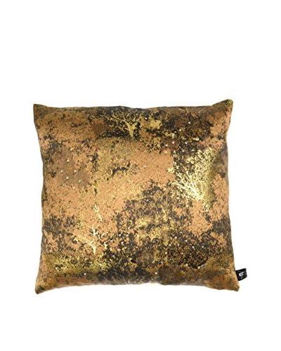Aviva Stanoff Estate Pillow with Swarovski, Copper