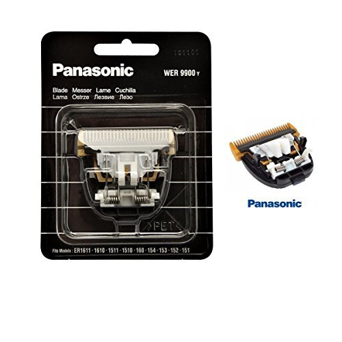 Panasonic Hair Clipper Trimmer Replacement Blade WER 9900 Y for ER1611 ERGP80 ER1610 ER1512 ER1511 ER1510 ER160 ER154 ER153 ER152 ER151 by Panasonic