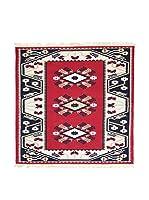 Floor Decor Alfombra Doubleface Milas (Rojo/Marfil/Multicolor)