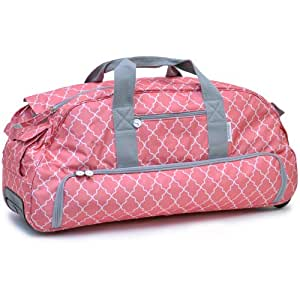 Silhouette Cameo Rolling Tote, Pink