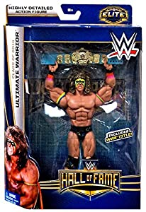 "WWE Wrestling Elite Collection Hall of Fame Ultimate Warrior 6"" Action Figure by Mattel Toys"