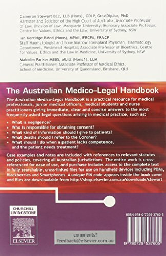 australian medico legal handbook
