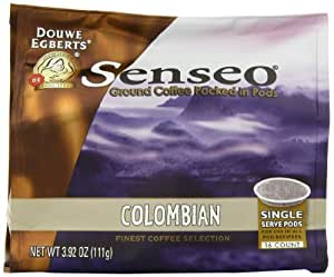 Senseo Coffee Pods, Colombia Blend,16 Count (Pack of 6)