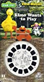Elmo Wants to Play - Sesame Street 3d View-Master 3 Reel Set
